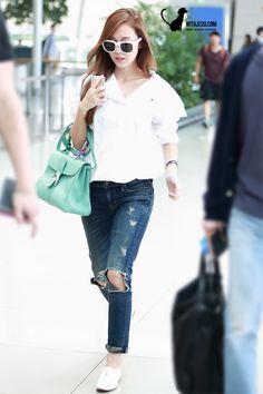 SNSD Jessica Airport Fashion 140902 2014