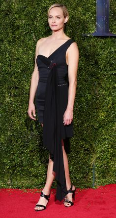 Amber Valletta at the 2015 Tony Awards. Photo: Dimitrios Kambouris/Getty Images