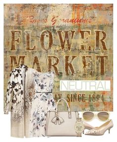 """""""flower market"""" by aries-indonesia ❤ liked on Polyvore featuring Home Decorators Collection, Chico's, Luxe, Nine West, ZeroUV and Mossimo"""