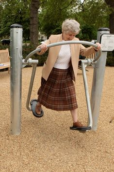 Playgrounds For Seniors Improve Fitness, Reduce Isolation #outdoorfitnessequipment