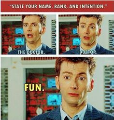 The Doctor being straight up! #DoctorWho