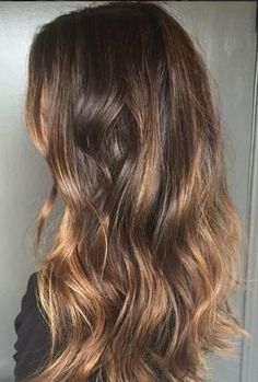 ash brunette subtle highlight hair