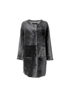 Kallinca trimmed fur coat