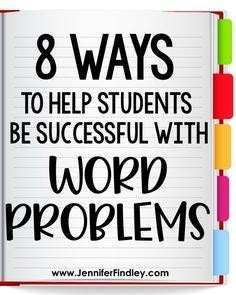 8 Ways to Help Students Be Successful with Word Problems in Upper Elementary - Teaching with Jennifer Findley