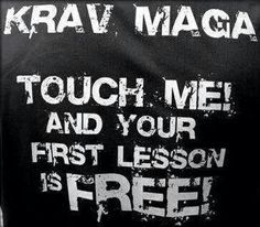 Krav Maga Quotes