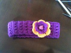 Cintillo tejido a crochet