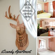 Looking for a homey type apartment to stay? Grab our special offer now! See how you can experience the attractive combination quality you could ever imagined.  Just log on to booking.iCandy@gmail.com