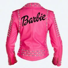 Pink & black Barbie jacket
