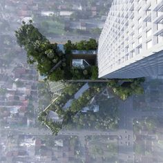 Are tree covered buildings really in tune with ecological and sustainable principles, or are they just a form of greenwashing? This is the question...