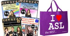 ASL Interpreter Power Package with I ❤ ASL Tote + Free Ship!