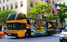 Join us for a tour on our New York Water Taxi double decker bus!