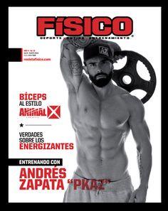 en portada Andres Zapata edición # 18 en circulación..