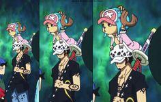 One Piece, Trafalgar Law, Chopper, Anime, manga One Piece Manga, Sanji One Piece, Watch One Piece, One Piece Comic, One Piece Fanart, One Piece Chopper, Trafalgar Law, Anime Demon, Manga Anime