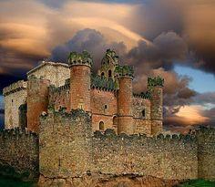 Castillo de Turégano, Segovia.