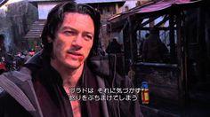 『ドラキュラZERO』ルーク・エヴァンスの撮影に一日密着