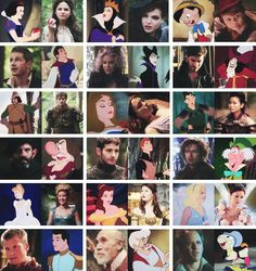 Love once upon a time and Disney.