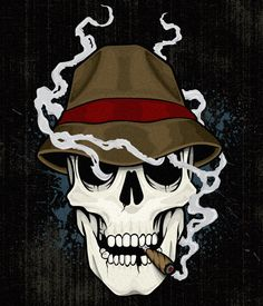 Smoking Skull reboot by CMTrov74