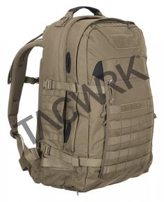 TASMANIAN TIGER BACKPACK MISSION BAG KHAKI