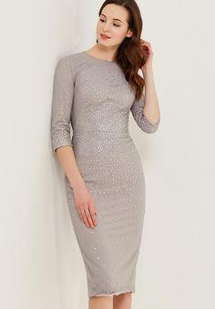 Платье Isabel Garcia IGFW18LDRM-BB1614 купить за 14 700 руб MP002XW0YFG1 в интернет-магазине Lamoda.ru