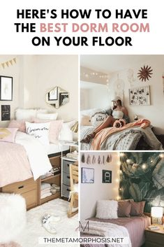 30 College Must-Haves for the Best Dorm Room in 2020 Best College Dorms, College Freshman Tips, College Dorm Checklist, College Dorm Essentials, College Hacks, College Dorm Rooms, College Fun, College Necessities, College Motivation