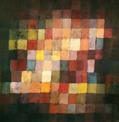 Paul Klee - Ancient Harmony, 1925 (no 236) (oil on cardboard)