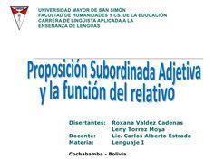 La-proposicin-subordinada-adjetiva-y-el-relativo
