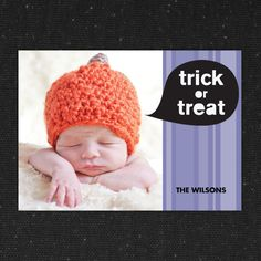 Say Trick or Treat | Halloween Card Collection #InkCards