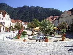 Styria, #Frohnleiten, Hauptplatz main square