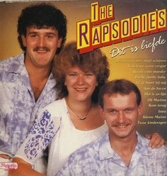 The Rapsodies - Dit is liefde (this is love) - album cover
