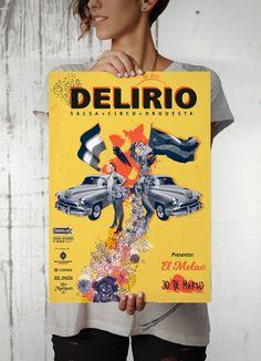 Re diseño de la imagen de delirio, por Laura Muñoz