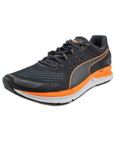 9af5abc18879 PUMA PUMA SPEED 1000 S IGNITE MEN ROUND TOE SYNTHETIC GRAY RUNNING SHOE .