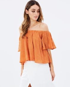 Better Days Ruffle Top by Finders Keepers Online | THE ICONIC | Australia