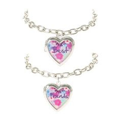 Best Friends Floral Locket Bracelets