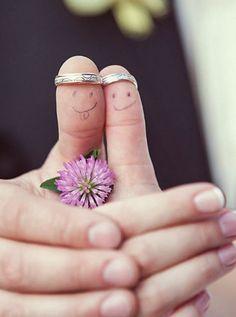 Witzige Hochzeitsfotos - Heirat Fotoideen