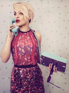 March 2012 - Photoshoot Wallpaper Theme -Model; Rita Ora
