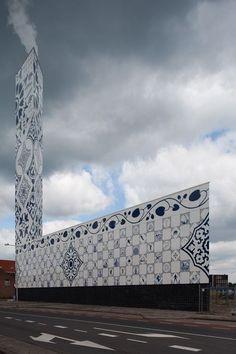 """Power station """"Stadshaard"""", Enschede, by Architekten Cie."""