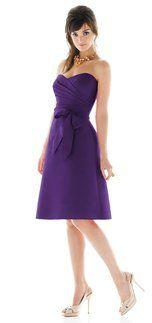Alfred Sung D437 Bridesmaid Dress | Weddington Way