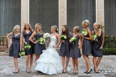 Charcoal Colored Bridesmaid Dresses   ... Bridesmaid Styles} Empire Waist Bridesmaid Dresses for Wedding 2014
