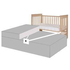 Treppy® Kit pour lit Boxspring, noir  - Paiement sécurisé ✓ Livraison offerte dès 40€ ✓ Expédition rapide ✓