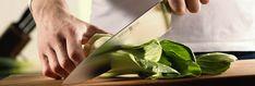 Für jeden Schnitt das richtige Messer – Teil 1. KLEINE SCHNEIDARBEITEN: SCHNIBBELN, PUTZEN, TEILEN