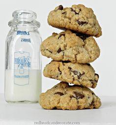 Oatmeal - Chocolate Chip Cookies