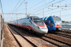 FA (Frecciargento) - TRENITALIA - Italy - Train types. Raildude (en)