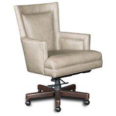 Hooker Furniture Aspen Mid Back Lenado Leather Home Conference Chair & Reviews   Wayfair