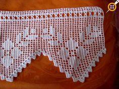Knit and Crochet Free Pattern Crochet Edging Patterns, Crochet Lace Edging, Crochet Borders, Crochet Squares, Lace Patterns, Crochet Trim, Love Crochet, Baby Knitting Patterns, Crochet Designs