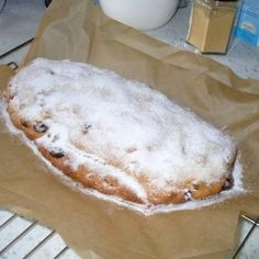 Dresdner-Stollen - ein Traum!!! Ciabatta, Pound Cake, Cakes And More, Xmas, Christmas, Food And Drink, Vegetarian, Bread, Vegan