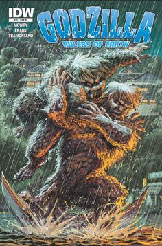 Godzilla: Rulers of Earth #10 Preview « SciFi Japan