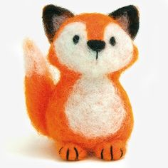 Needle Felted Fox Kit