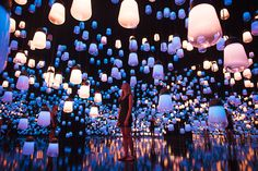 designboom spoke with teamlab's takashi kudo about this immersive installation, the idea of eternal, and what he wants to imprint on the visitors.