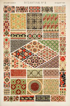 Owen Jones' masterpiece, The Grammar of Ornament online - Digital Library for the Decorative Arts and Material Culture.