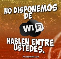 No hay wifi